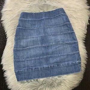 NWOT Rag & Bone Denim Skirt